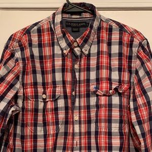 U.S. POLO BUTTON DOWN Size Large